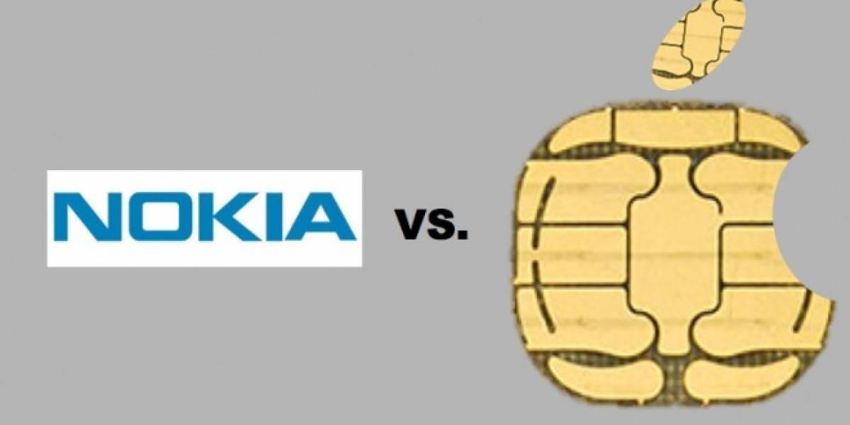 Nokia retendrá patentes para bloquear la estandarización del nano SIM de Apple