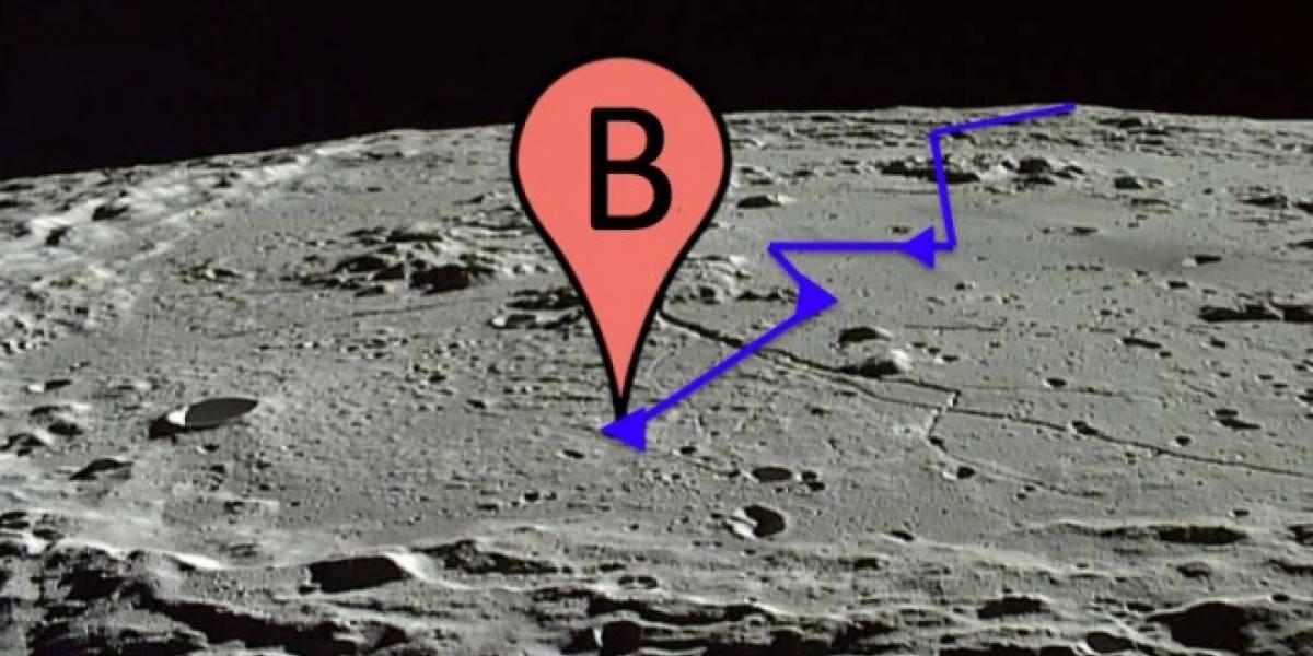 Google Maps actualiza para Android 4.0 y dice que habría hecho lo equivalente a 130 mil viajes a la Luna