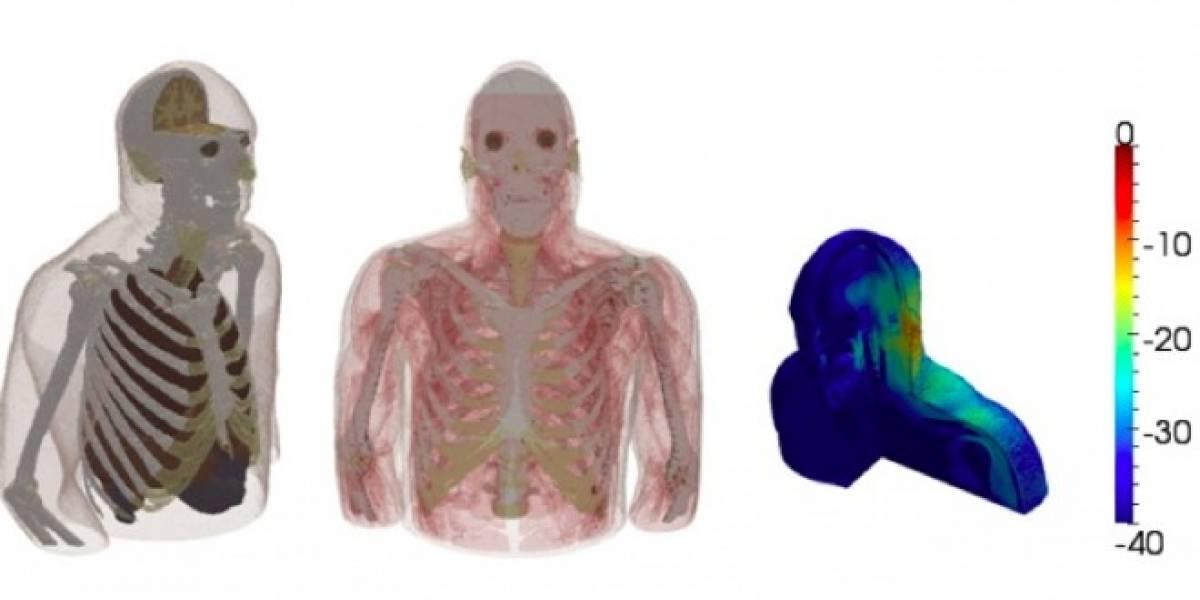 AustinMan, el cuerpo digital que probará si los celulares hacen daño o no