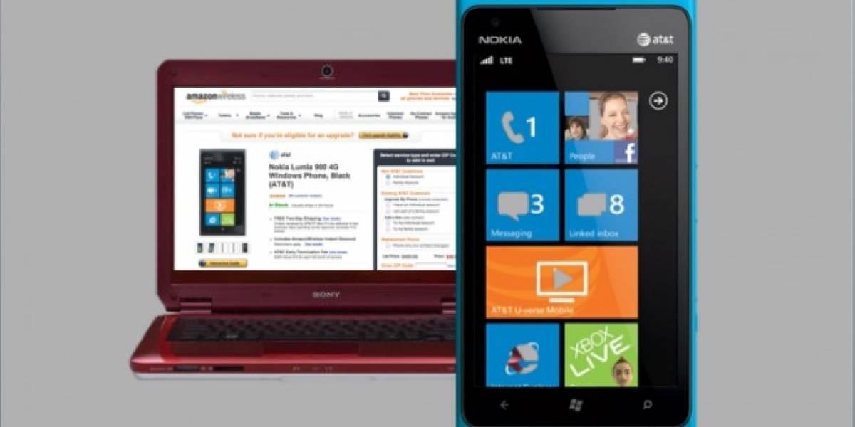 Nokia Lumia 900 se convierte en el más vendido de Amazon