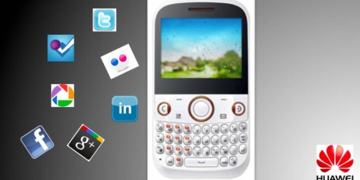 Huawei lanza móvil de gama media dedicado a las redes sociales