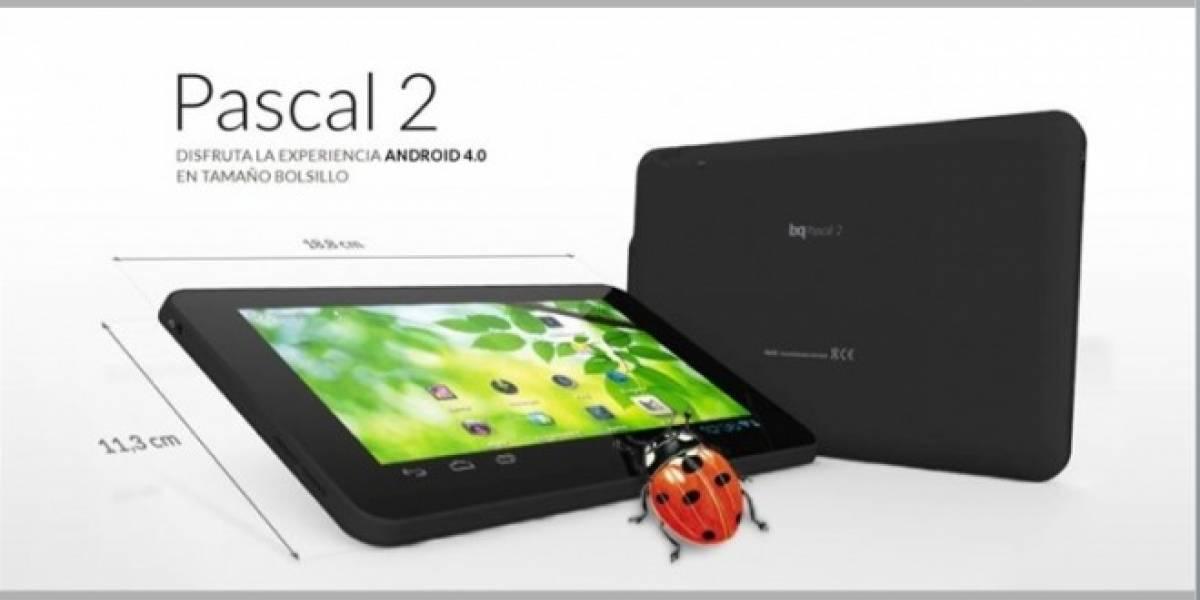 España: bq fabricará tableta con Android 4.0