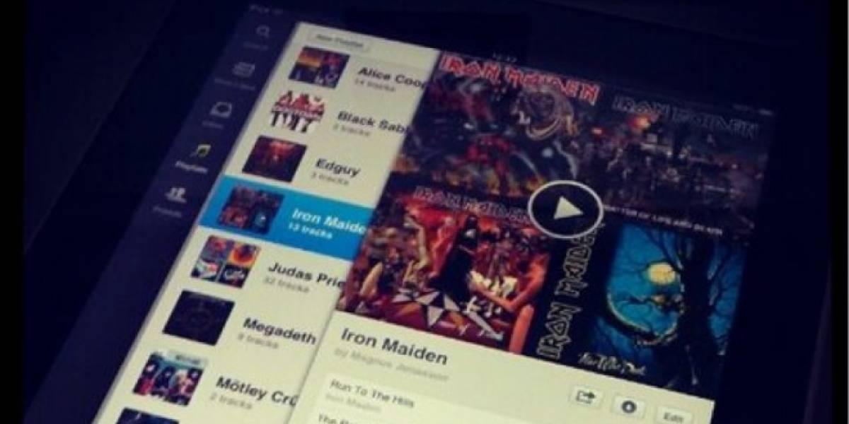 App Spotify estaría lista para iPad