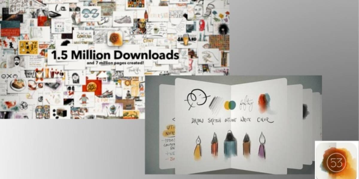 Paper: la app para iPad que enamora a los fanáticos del dibujo