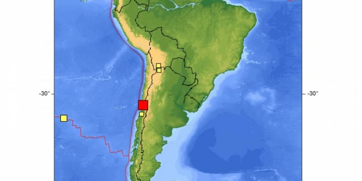 Chile: Fuerte temblor en la zona central provoca intermitencias en el servicio de voz y datos