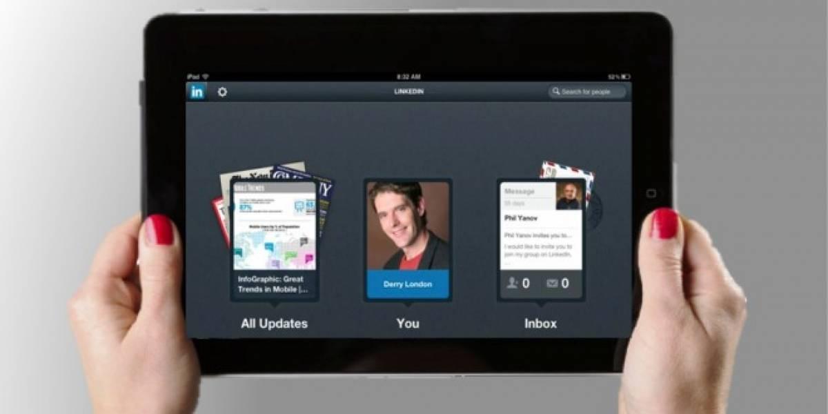 Ahora sí: LinkedIn tiene app para iPad