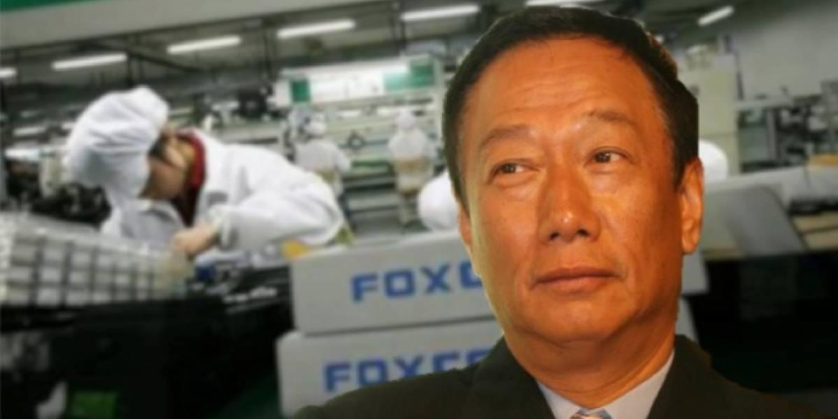 No hay ningún problema en trabajar duro, según el presidente de Foxconn