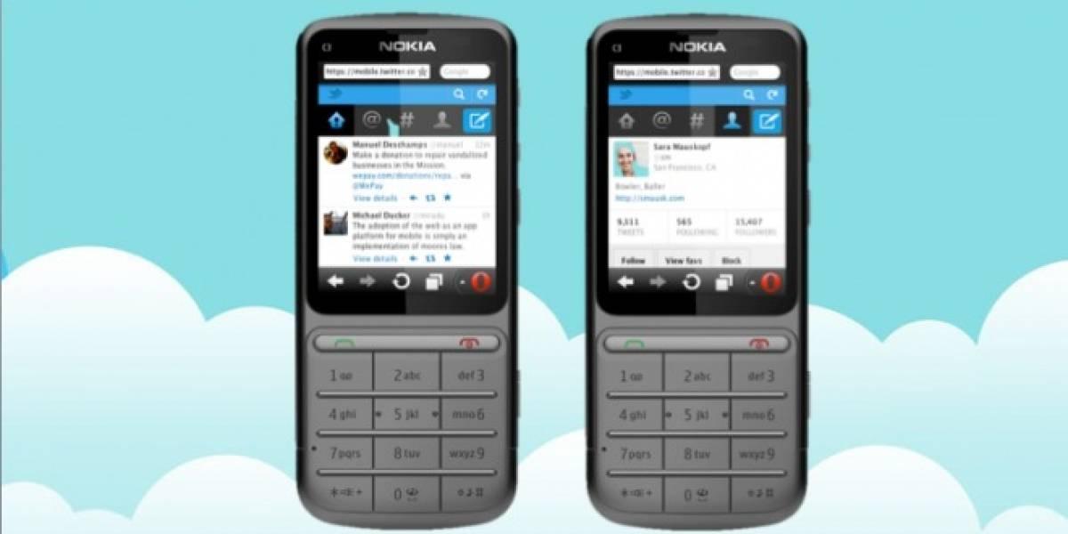 Web de Twitter móvil recibe actualización