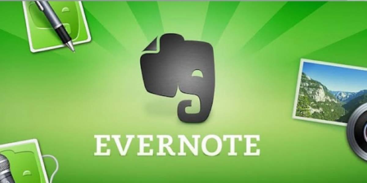 Evernote se renueva para Android 4.0