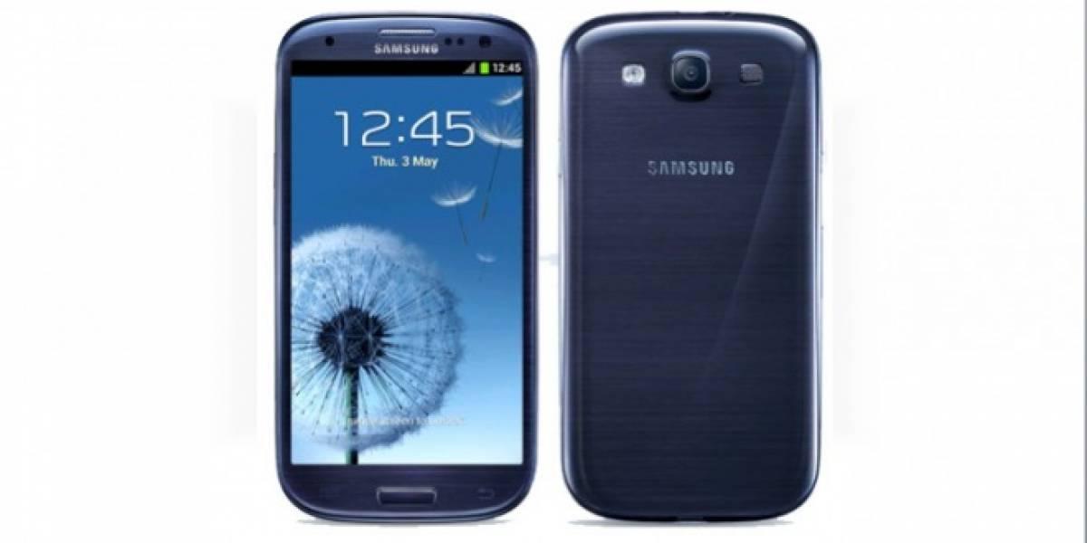 Samsung Galaxy S III azul detenido por problemas de fabricación