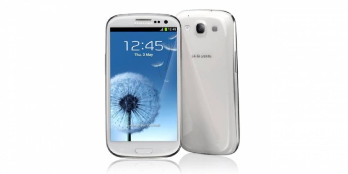 El Samsung Galaxy SIII blanco se contagia de retrasos
