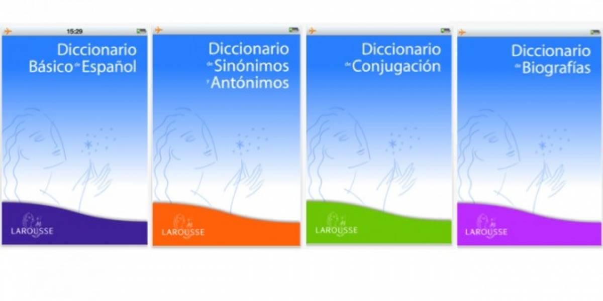 Larousse lanzó diccionarios para iPhone y iPad