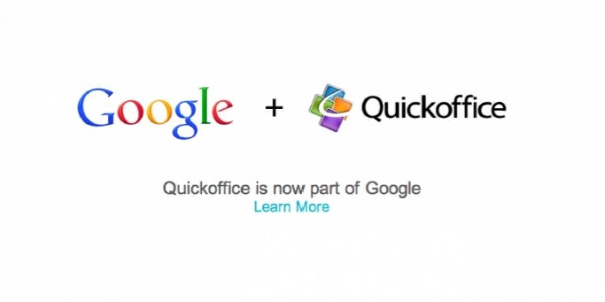 Google compra Quickoffice para impulsar Google Apps