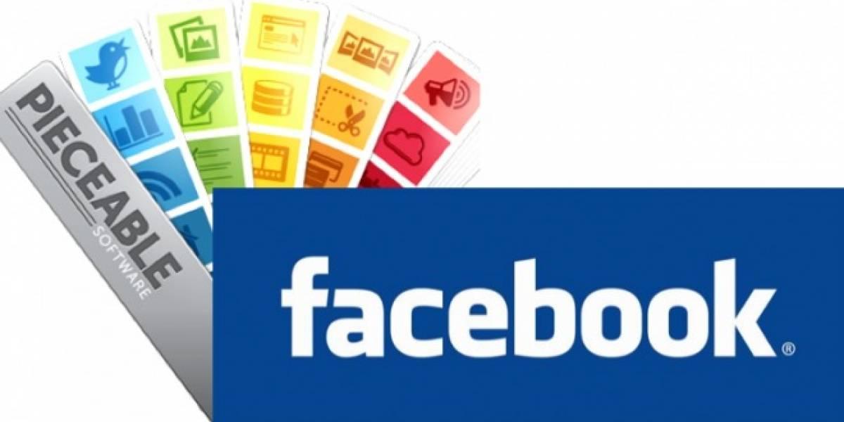Facebook se junta con Pieceable para mejorar su negocio móvil