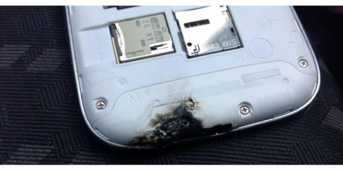 Samsung Galaxy SIII: un móvil ardiente, literalmente