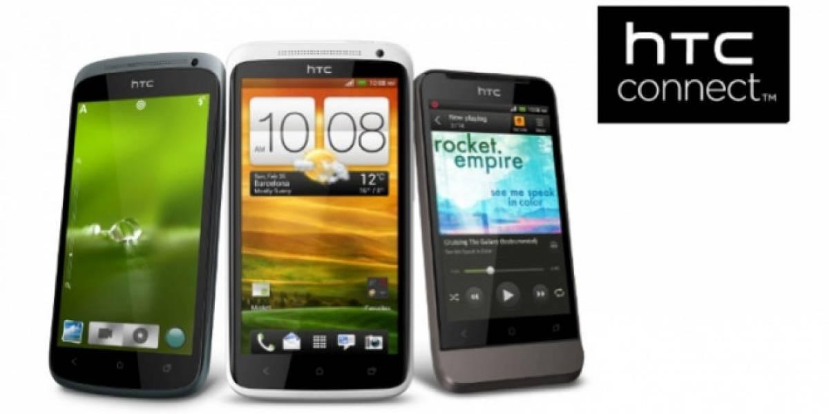 HTC lanza HTC Connect, un programa de transmisión inalámbrica multimedia
