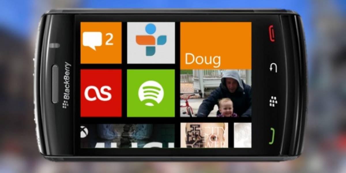 RIM haría móviles con Windows Phone 8