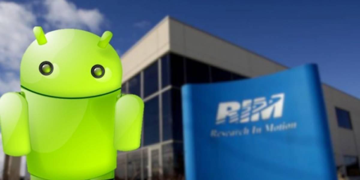 Móvil Google con teclado físico podría encargársele a RIM