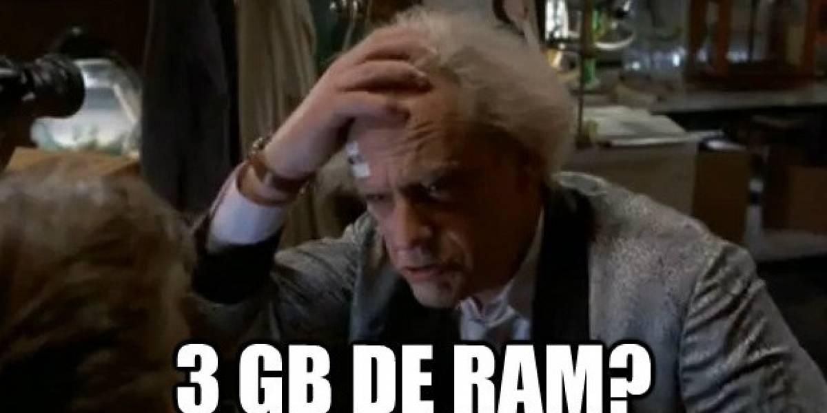 Futurología: ¿Acaso Samsung planea teléfonos con 3 GB de RAM?