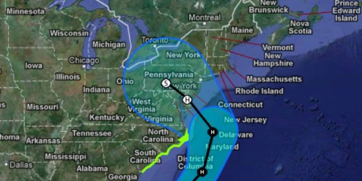Google cancela evento del lunes, debido al Huracán Sandy