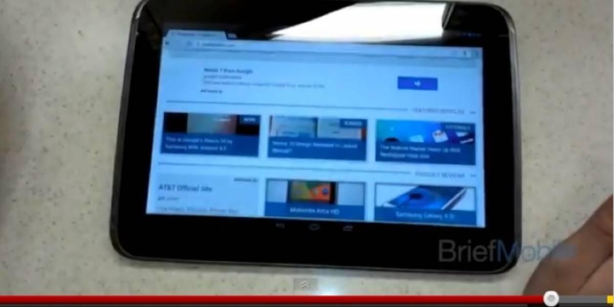 Nuevo vídeo de la supuesta Nexus 10