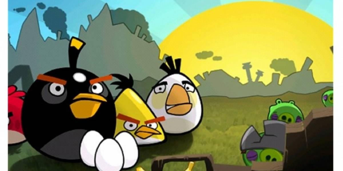 Angry Birds podría estar espiándote