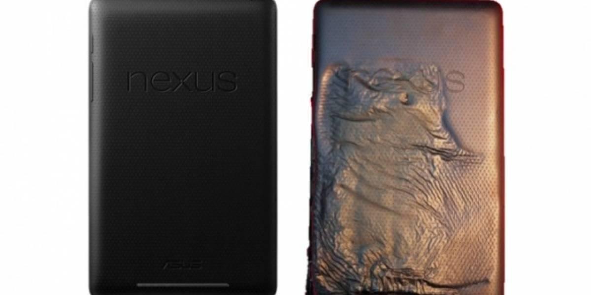 Una Nexus 7 se incendia sola