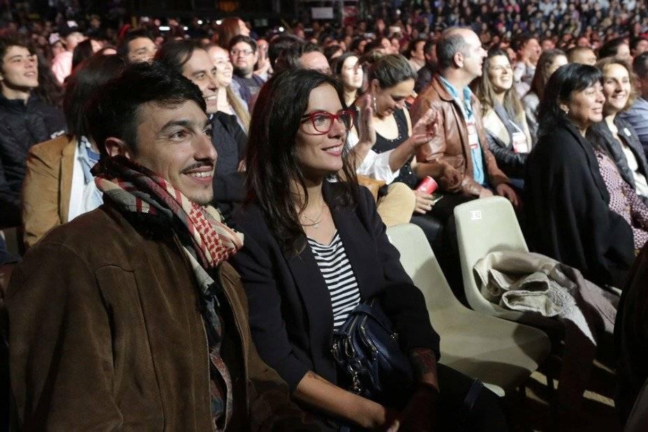 Abel Zicavo y Camila Vallejo