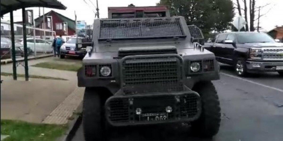 """Aumenta la tensión en coletazo de """"Operación Huracán"""": ahora FFEE de Carabineros resguarda insólito allanamiento de la PDI"""