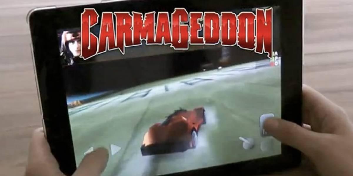 Carmageddon anunciado para iOS y Android