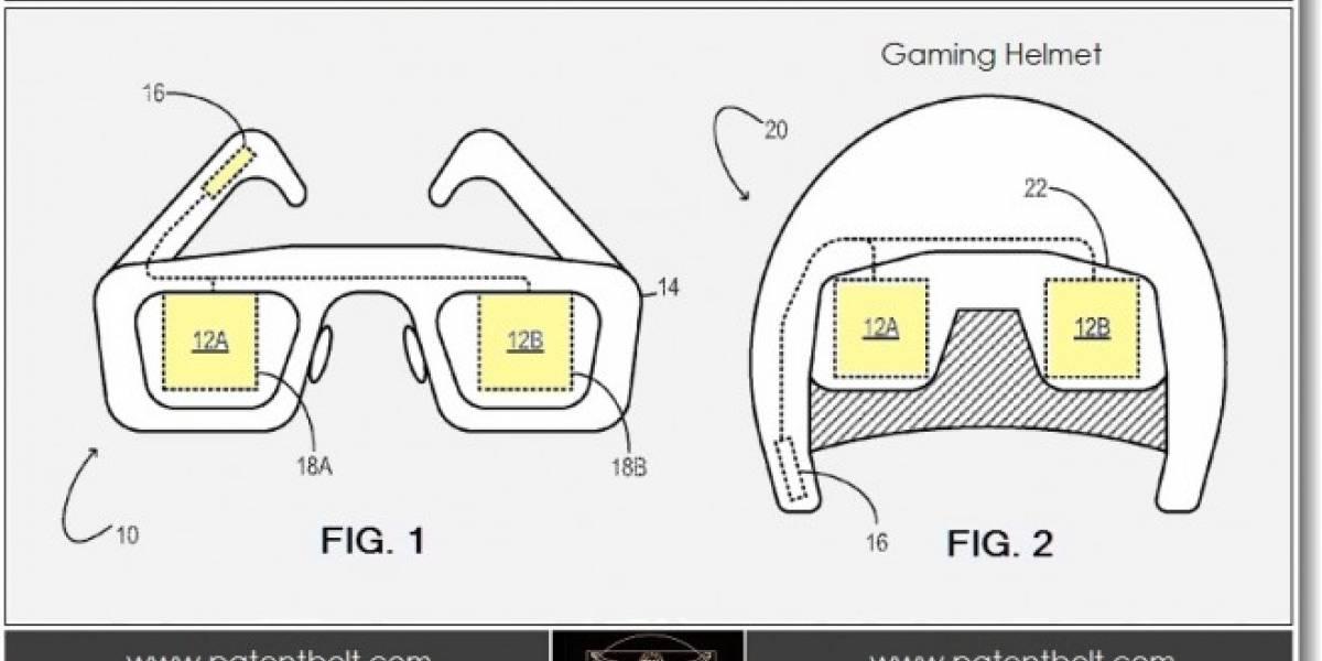 Microsoft patenta un casco con lentes que se podría usar en la próxima Xbox
