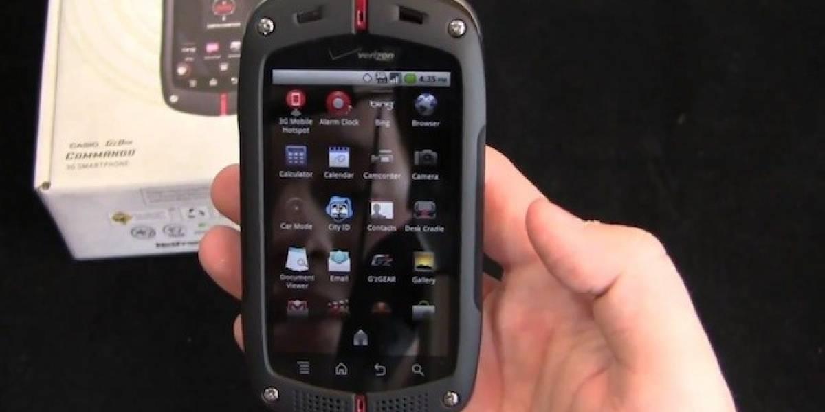 Casio estaría preparando un nuevo smartphone para Verizon