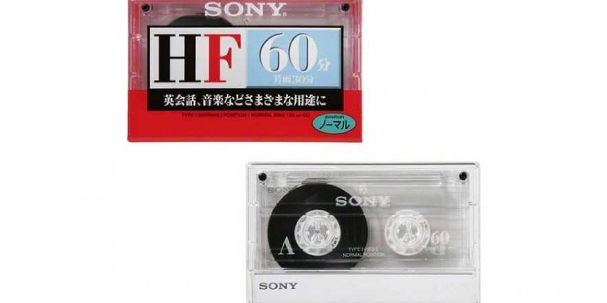 Los cassettes de cinta regresan en Japón gracias a Sony