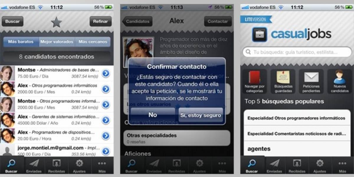 España: Casualjobs, una aplicación móvil distinta para conseguir trabajo