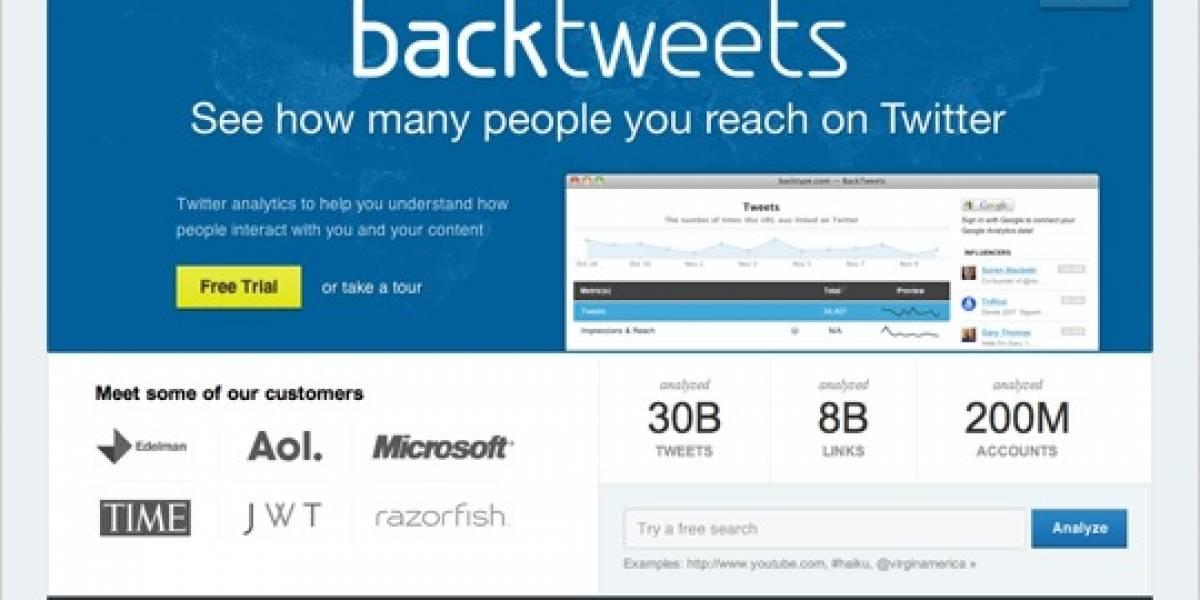 Twitter se queda con BackType