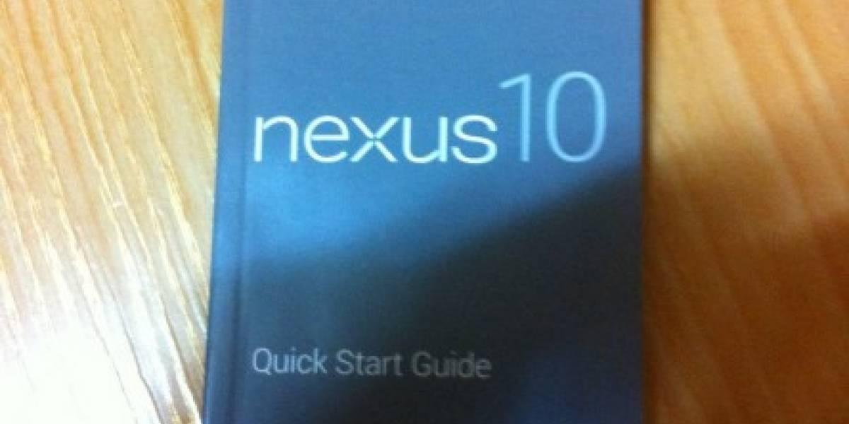 Filtración muestra supuesto manual de la rumoreada Nexus 10