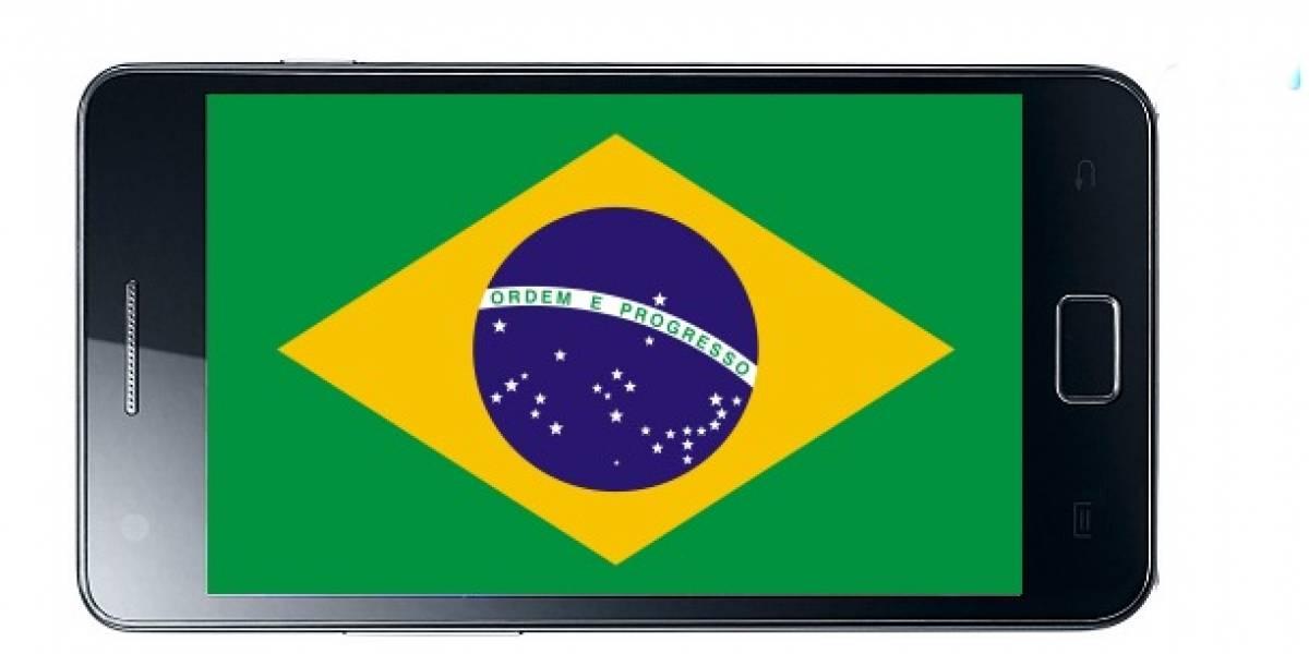 Brasil: 242 millones de teléfonos celulares en 2011