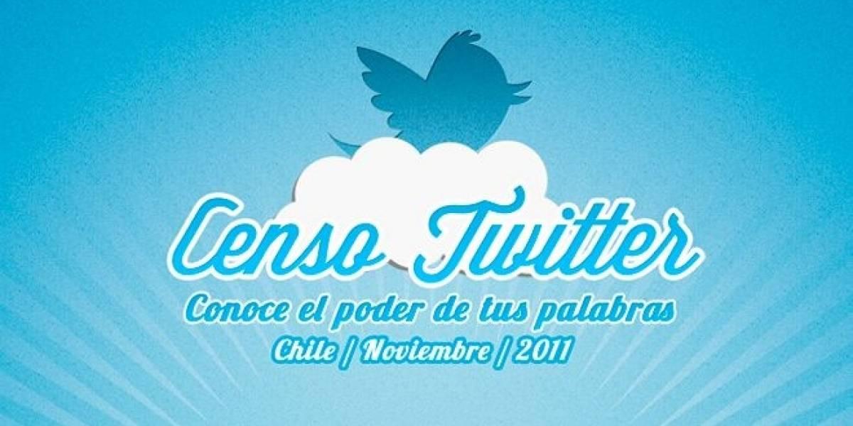 Censo Twitter busca descubrir el impacto de la red social en Chile