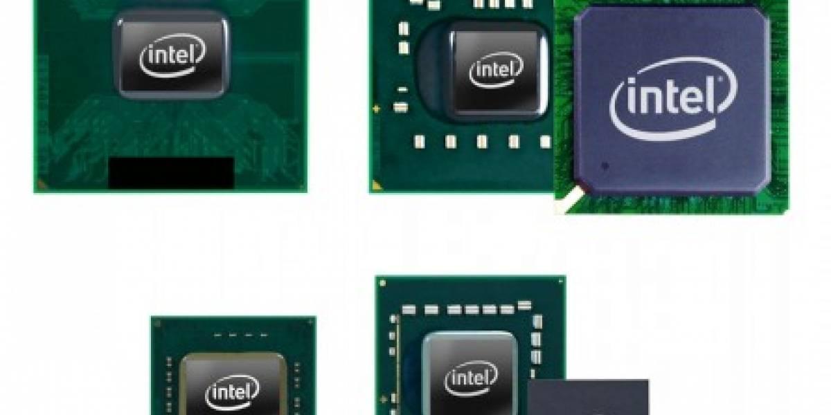 Intel presenta 4 nuevos procesadores móviles