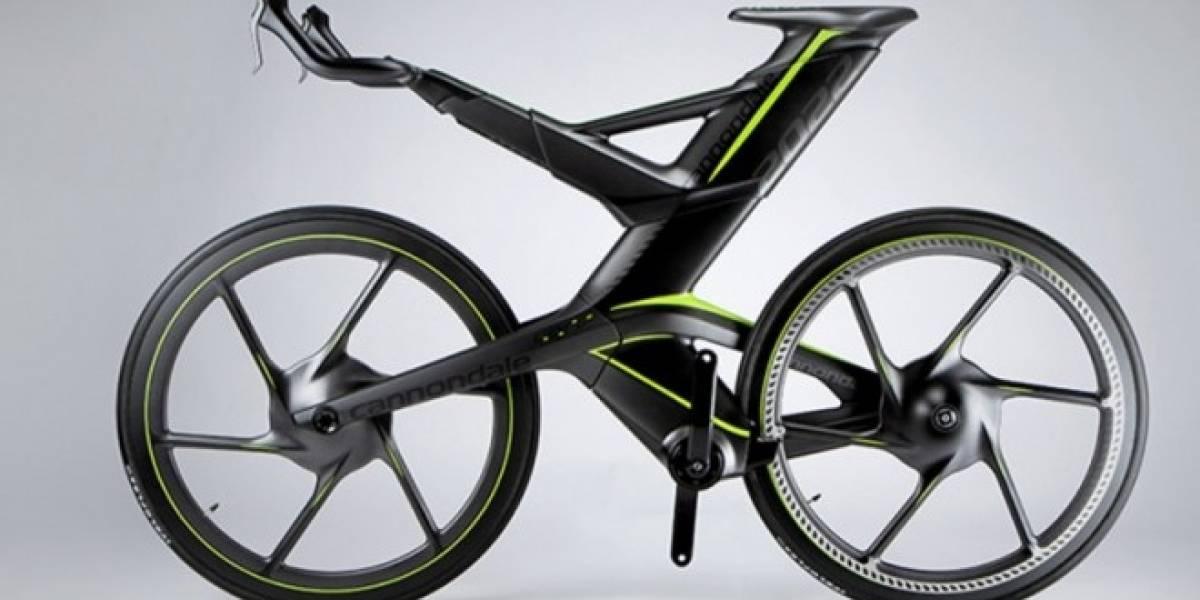 CERV: La bicicleta sin cadena que se ajusta a cualquier terreno