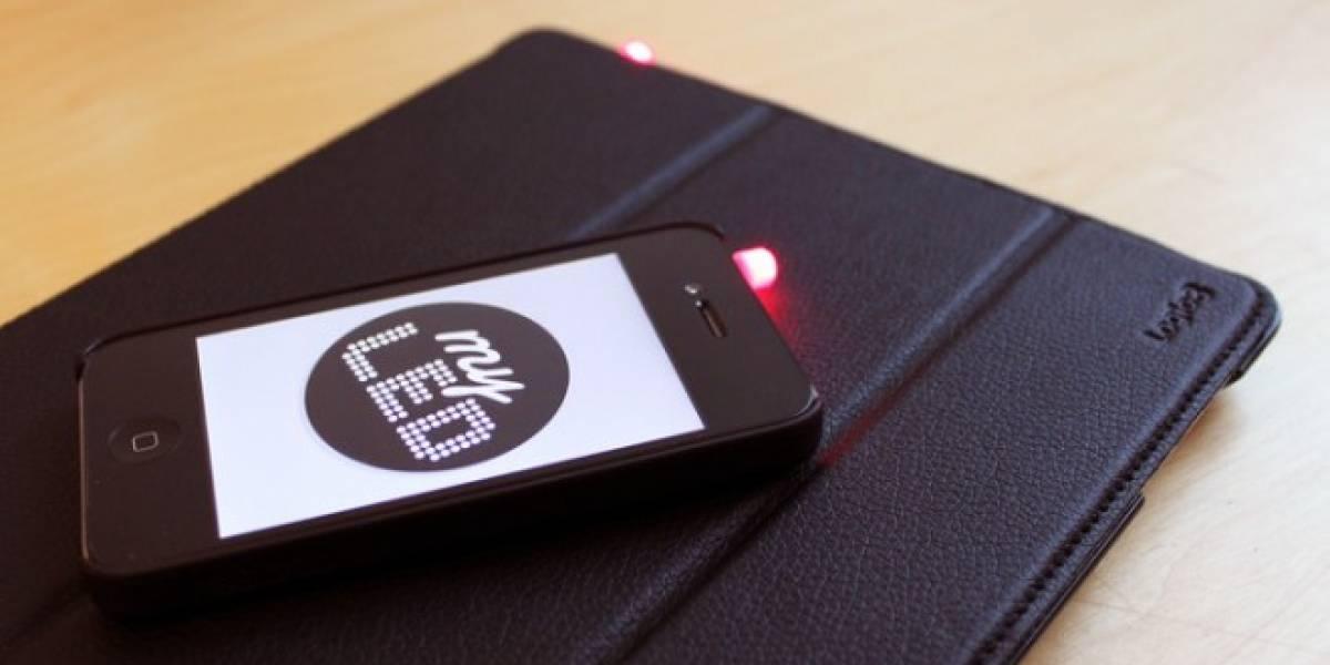 Proyecto de Kickstarter quiere darle una luz externa para notificaciones al iPhone
