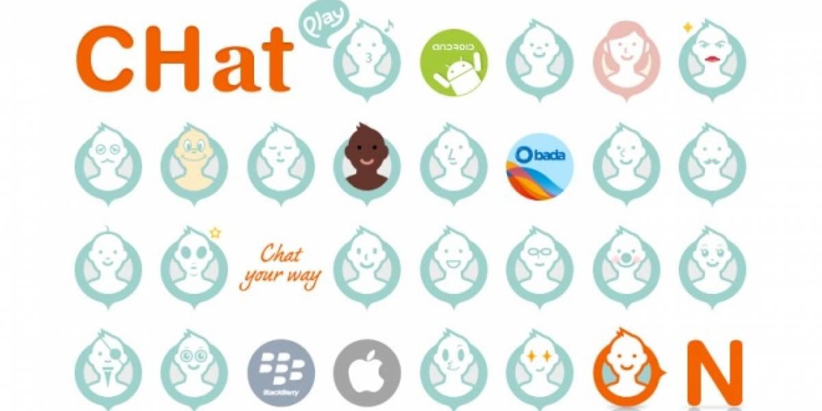 Samsung anunció hoy una versión web para ChatON