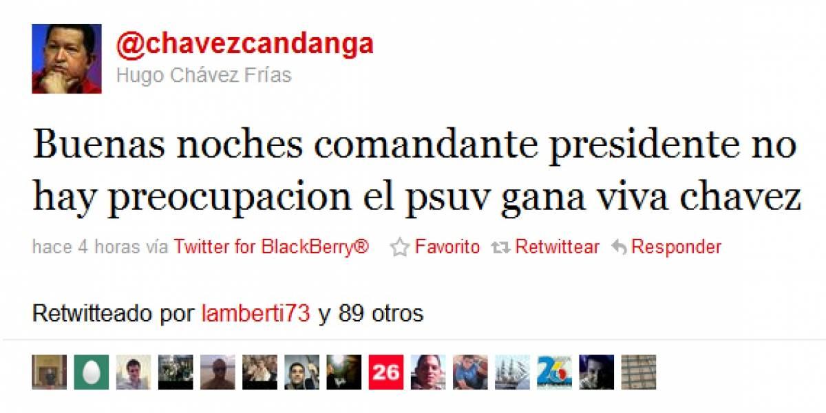 Venezuela: Misterio por presunto hackeo a Twitter de Hugo Chávez