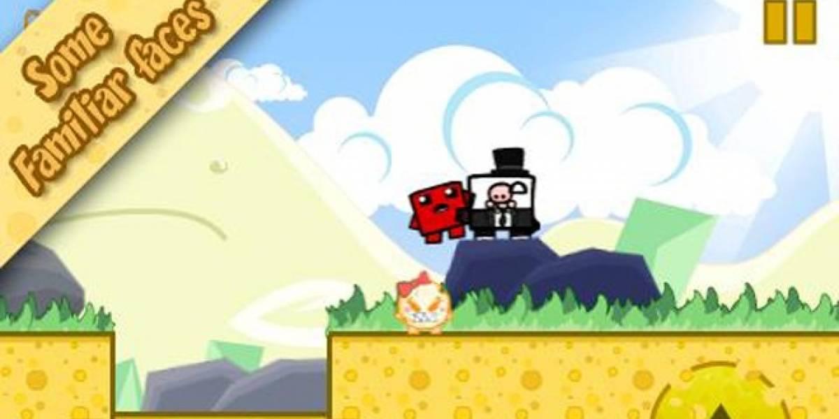 Disfruta de CheeseMan un juego gratuito para Android a la Super Meat Boy