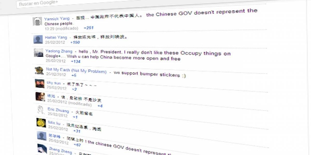 Chinos inundan el muro de Obama en Google+, tras falla en el Gran Firewall