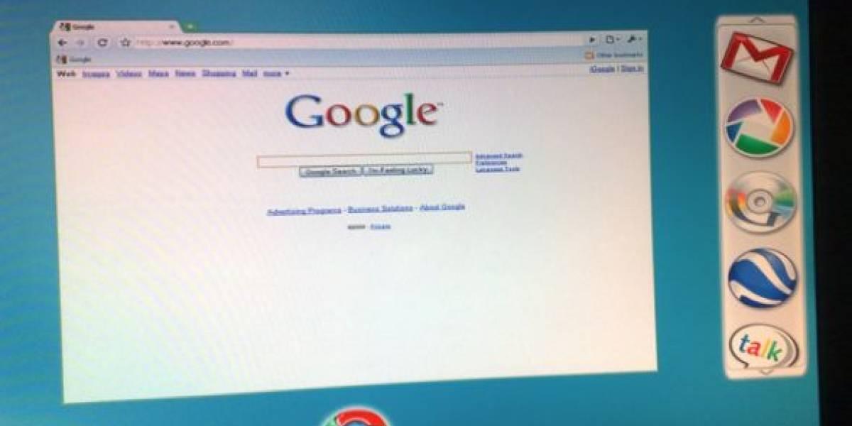 Supuestas imagenes de Google Chrome OS