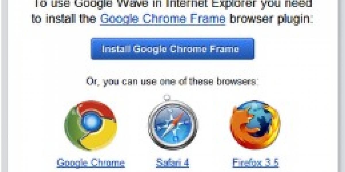 Google mete Chrome dentro de IE6