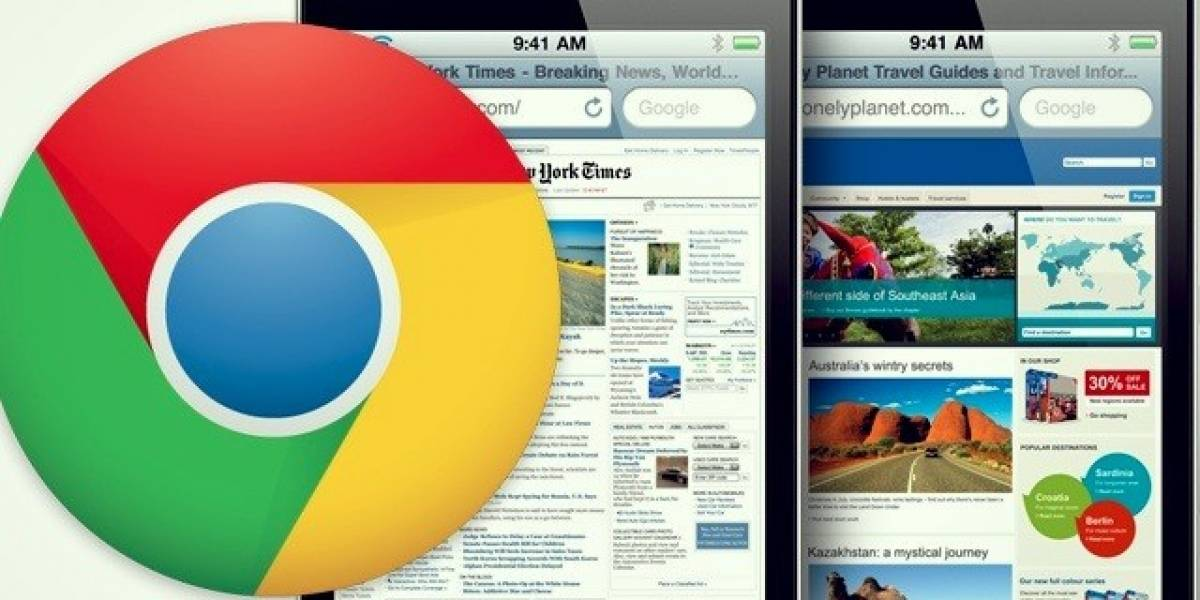 Pronto Chrome estará disponible para dispositivos iOS