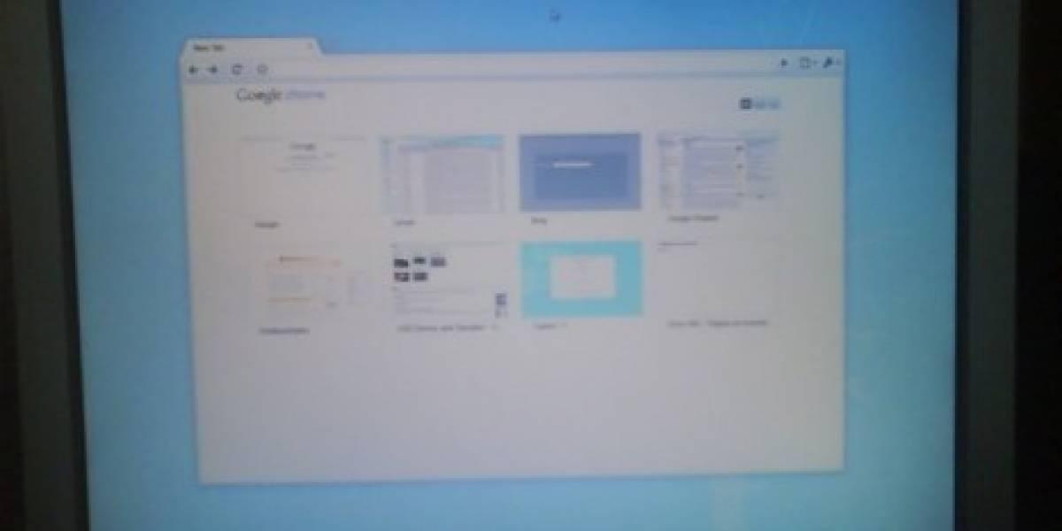 Nuevas capturas de pantalla de Chrome OS