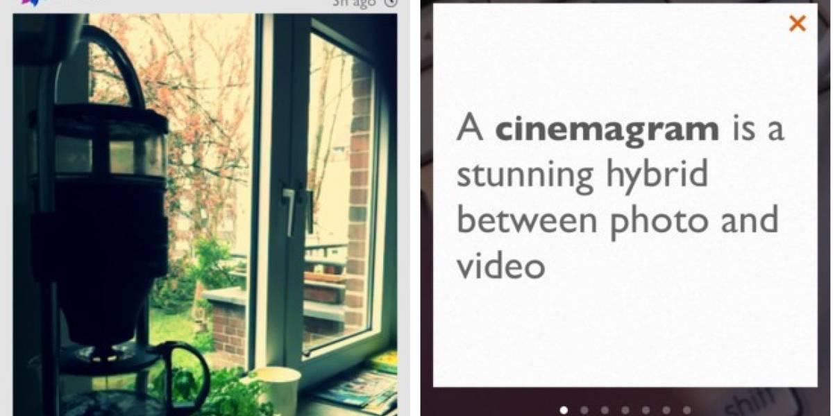 Cinemagram: Aplica filtros a tus gifs